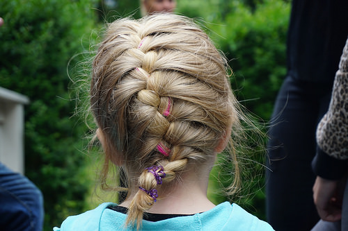 french braids photo