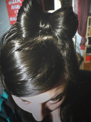 hair bow photo