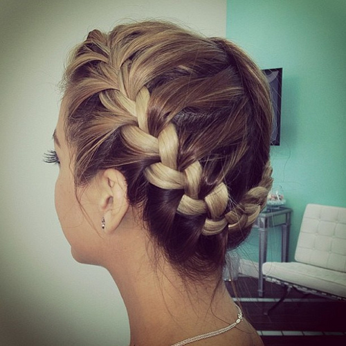 braided crown photo
