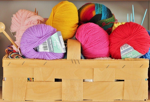 coloured yarns